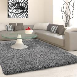 Tappeto shaggy, altezza pelo 3 cm, grigio chiaro