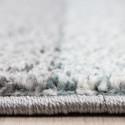Moderne Designer 3D contour cut woonkamer tapijt LUCCA 1810 BLAUW