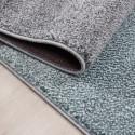 Moderner Designer Konturenschnitt 3D Wohnzimmer Teppich  LUCCA 1810 BLUE