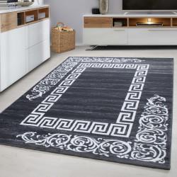 Moderner Designer Wohnzimmer Teppich Miami 6620-Grey