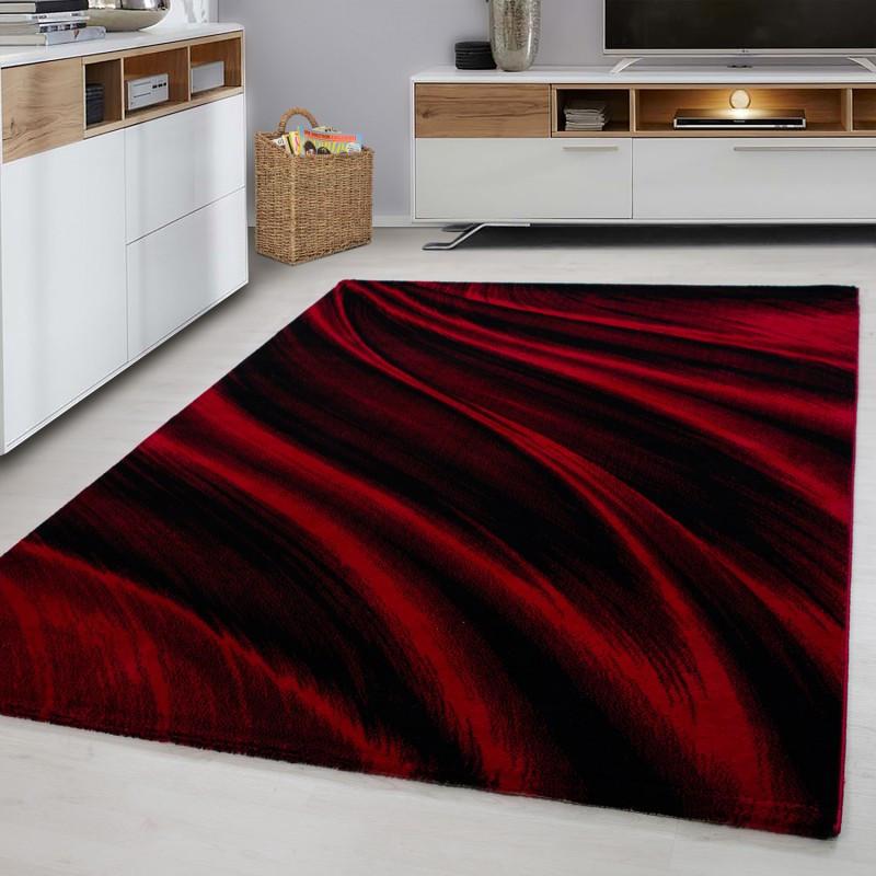 Progettista Moderno Soggiorno Tappeto Miami 6630 Red