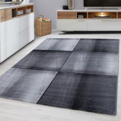 Moderne woonkamer, jeugd kamer, tapijt PARMA 9320-Zwart