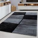 Moderner Designer Wohnzimmer Teppich LIMA 1940 Grey