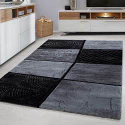Moderner Designer Wohnzimmer Teppich LIMA-1940-Grey