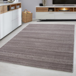 Designer Wohnzimmer Jugendzimmer Teppich Meliert Farbe Beige