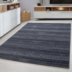Designer Wohnzimmer Jugendzimmer Teppich Wandmotiv kariert Plus-8000 Grey