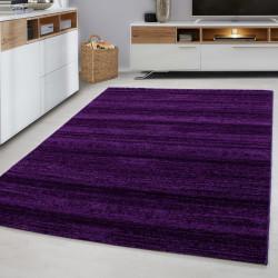 Designer woonkamer tiener slaapkamer tapijt muur motief geruite Plus-8000 PAARS
