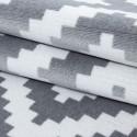 Designer Soggiorno Cameretta Tappeto Wandmotiv plaid Plus 8005 Grey