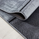 Designer Soggiorno Cameretta Tappeto Wandmotiv plaid Plus 8007 Black