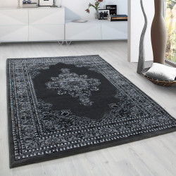 Classic oriental living room orient carpet Marrakesh 0297 gray