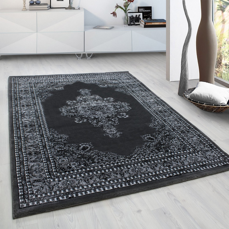 Classical Oriental Living Room Oriental Rug Marrakesh 0297 Grey