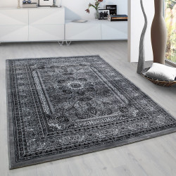 Classical Oriental Living Room Oriental Rug Marrakesh 0207 Grey