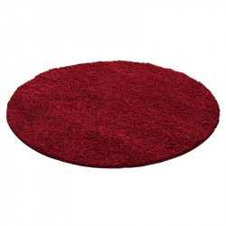 Shaggy pile living room Shaggy carpet pile height 3cm slim fit AROUND