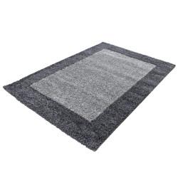 Shaggy carpet, high pile, long pile, living room shaggy carpet, 2 colors, pile height 3cm, gray, light gray