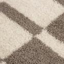 Shaggy pile living room GALA Shaggy carpet pile height 3cm Beige-cream