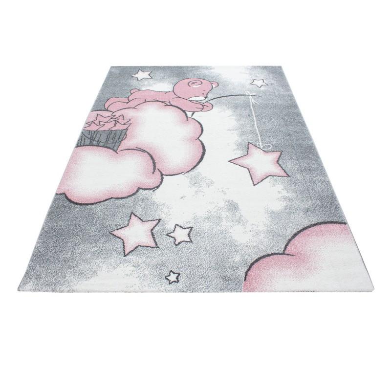 Kinderzimmer Teppich Mit Motiventady Pink
