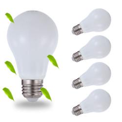 LUXBIEN LED lamp 5W vervangt 40 watt E27, 5W 400 lumen dimbaar [3000K - 4000K - 6000K]