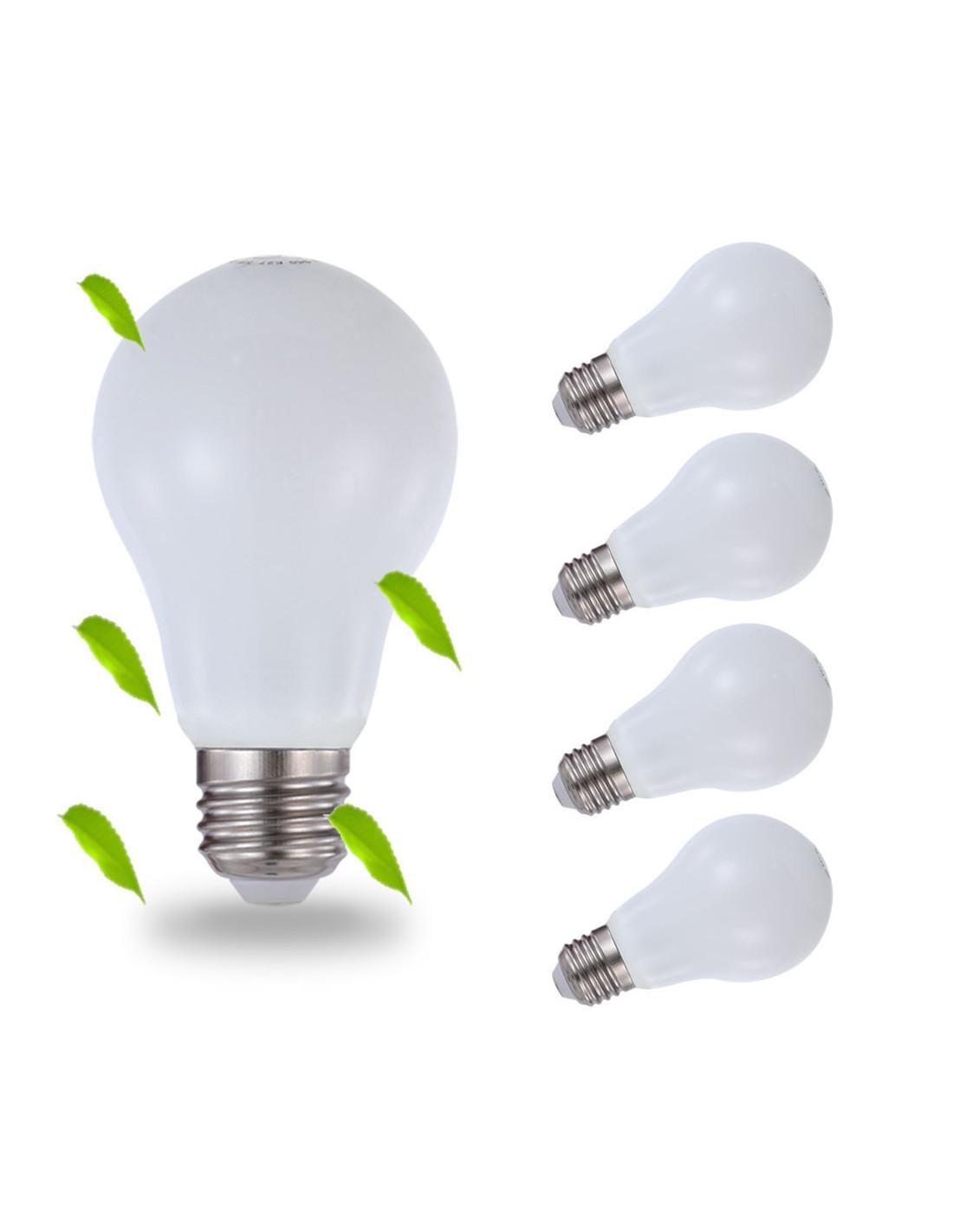 luxbien led gl hbirne 5w ersetz 40 watt e27 5w 400 lumen. Black Bedroom Furniture Sets. Home Design Ideas