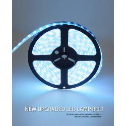 Striscia LED WIfi Set RGB Striscia LED con 5M 300 LED comandato da app Cavo di alimentazione 5050 EU impermeabile IP65