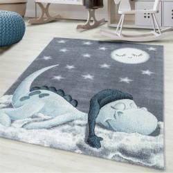 Children's carpet Children's room carpet 3D motif Dino