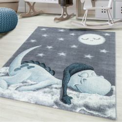 Kinderteppich Kinderzimmerteppich 3D Motiv Dino