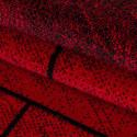 Moderner,Designer  Wohnzimmer Teppich Rot