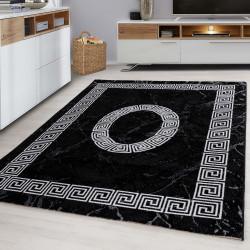 Designer  Jugendzimmer Teppich Versace Black