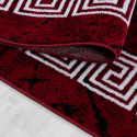Designer Cameretta Tappeto Versacemotiv Red