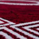 Designer  Jugendzimmer Teppich Versacemotiv Red