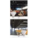 Gu10 LED Lampe Ersetzt 50W Halogen Warmweiss 2700-3000K 500lm Dimmbar LUOKOED® 10er [Energieklasse A+