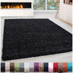 Wohnzimmer Teppich Hochflor Shaggy Langflor Pflegeleicht 3 cm Florhöhe Oeko Tex Zertifiert