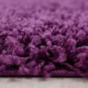 Hochflor Langflor Shaggy Teppich uni farbe verschiedene Größen und Farben