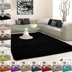 Tappeto shaggy, pelo lungo, pelo lungo, tinta unita, diverse dimensioni e colori