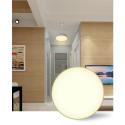 LED Panel Deckenleuchte Basic White - Aufbauspot - Deckenspot - Modern - Weiß -(24W-Warmweiss)