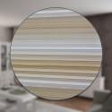 Zebra-Doppelrollo Farbe Cream mit Aluminium Kasette