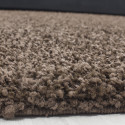 Shaggy pile living room Shaggy carpet, solid color pile height 5cm brown