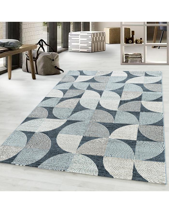 Wohnzimmerteppich Kurzflor Teppich Mandala