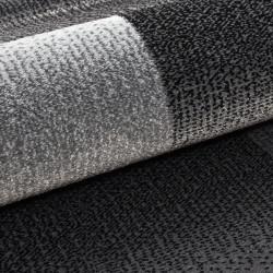 Modern designer living room rug Miami 6560 black