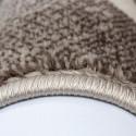 Modern Designer Living Room Carpet, Parma 9210 Brown