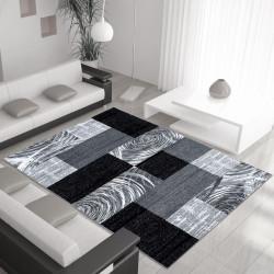 El Diseñador De Moda De La Alfombra Parma 9220 Negro