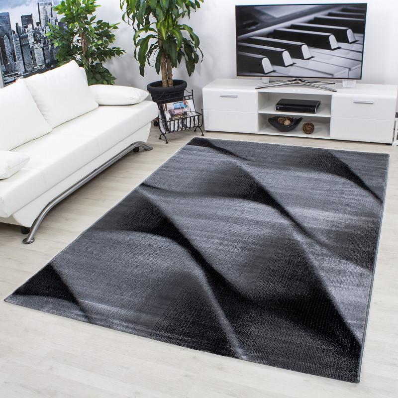 Moderne, Salle De Séjour Tapis De Parme, 9240 Noir