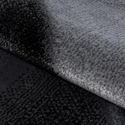 Modern designer living room rug Parma 9240 black