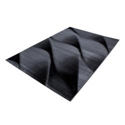 El Diseñador Moderno Salón Alfombra Parma 9240 Negro