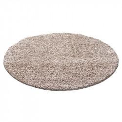 Shaggy carpet, pile height 3cm, plain color Terra