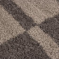 Salotto a pelo lungo a pelo lungo GALA Moquette Shaggy altezza pila 3 cm tortora-beige