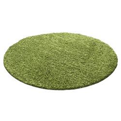 Pelo shaggy altezza 3 cm tinta unita verde