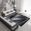 Modern Designer Living Room Carpet Miami 6590 Black
