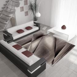 El Diseñador Moderno Salón Alfombra Miami 6590 Marrón