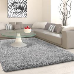 Shaggy stapel woonkamer Shaggy tapijt poolhoogte 3 cm slim fit-licht grijs