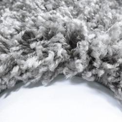 Shaggy carpet, high pile, long pile, living room, pile height 3cm, plain light gray